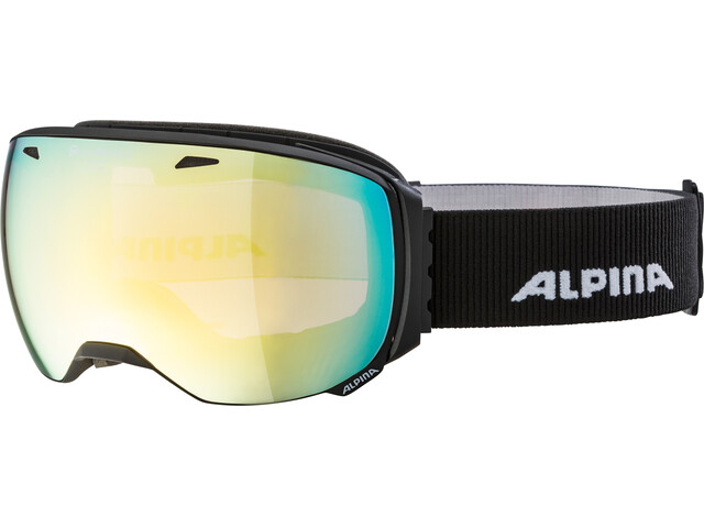 Alpina Big Horn QVMM Gogle czarny
